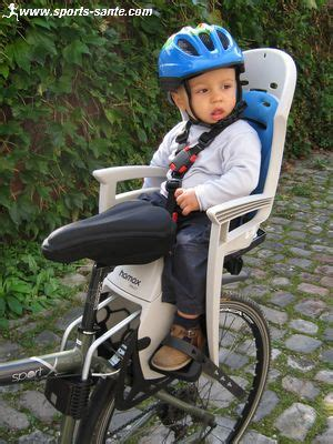 siège vélo bébé hamax smiley compatible vtt sans porte
