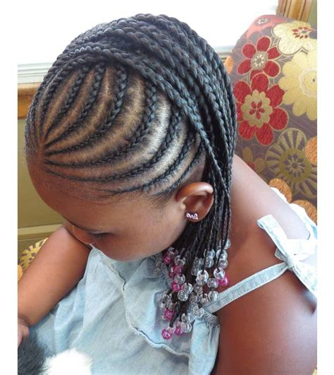 braided hairstyles for little black girls with different