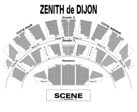 plan de salle zenith billets sanson zenith de dijon dijon le 29 mars 2018 concert
