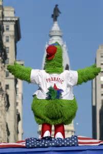 Phillie Phanatic Philadelphia Phillies'