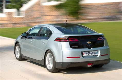 chevrolet volt   review autocar