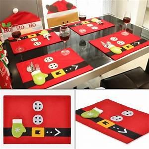 Sets De Table Originaux : sets de table noel no l loisirs cr atifs et bricolage ~ Voncanada.com Idées de Décoration