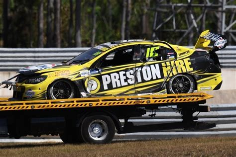 Having A Quick Car On Green Tyres Is Holdsworth's Focus
