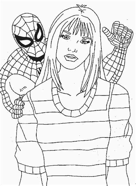 spiderman coloring pages  kids updated
