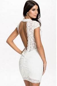 robe blanche moulante pas cher courte en dentelle et dos With robe moulante pas cher