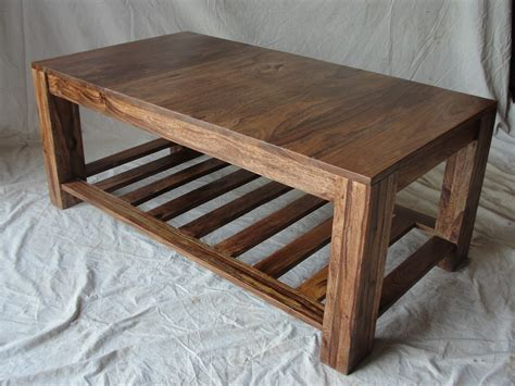 $50 square hairpin leg coffee table Simple Wooden Coffee Table - Design Decoration