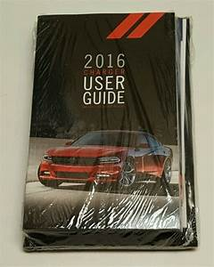 2016 Dodge Charger Owners Manual User Guide Srt Hellcat
