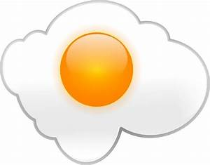 Fried Egg clip art Free vector in Open office drawing svg ...