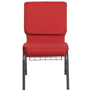 hercules series 18 5 w church chair in red fabric with