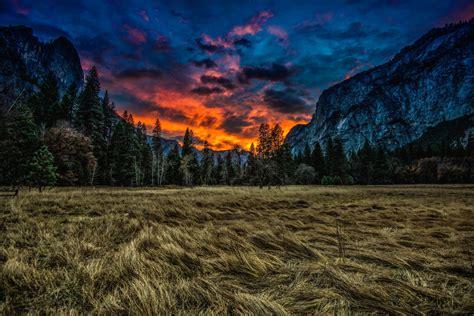 Yosemite National Park Usa United States California