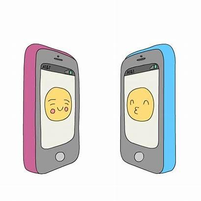 Giphy Phones Sexting Tinder Emoji Citas Apps