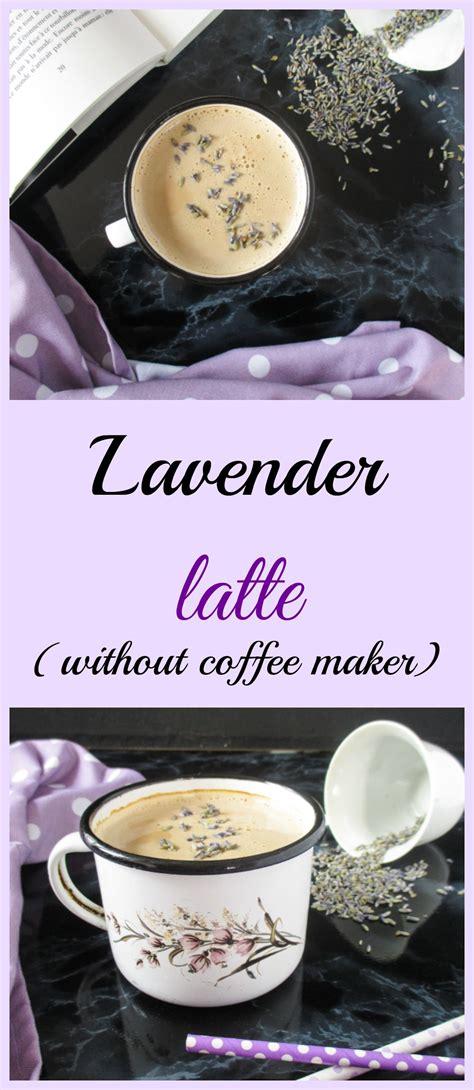 Iced coffee with milk & iced coffee mocha thanks to the host : Levanduľové latte (bez kávovaru)