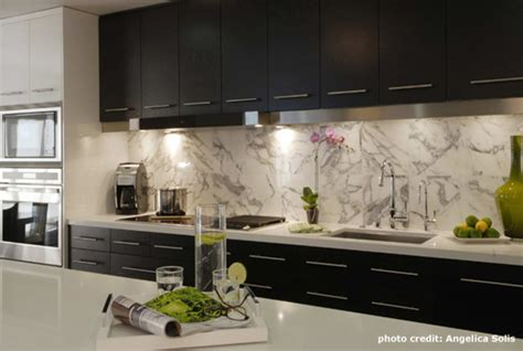 espresso cabinets contemporary kitchen casey banks