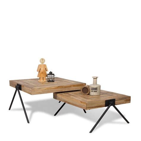 kleine salontafel lava salontafel square laag small de bommel meubelen