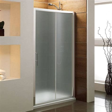 Modern Bathroom Door by Bathroom Photo Frosted Modern Glass Shower Sliding Door