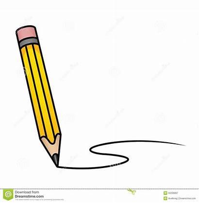 Bleistift Pencil Cartoon Matita Drawing Line Curved