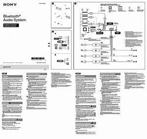 Sony Car Audio System Wiring Diagram