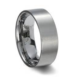 camo mens wedding band mens brushed tungsten carbide pipe cut wedding band