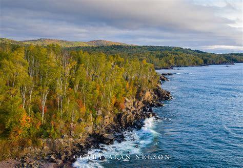 Aspens and Sawtooth Mountains   Lake Superior, Minnesota ...