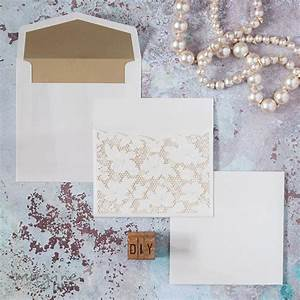 luxury lace lasercut insert imagine diy With luxury laser cut wedding invitations uk