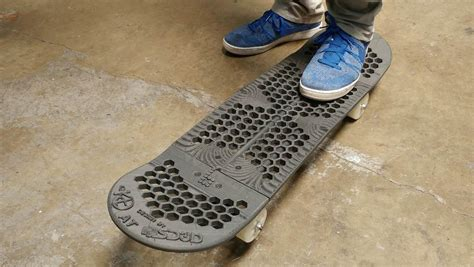 design for additive manufacturing sd3d creates fully functional fully 3d printed skateboard