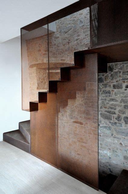 corten steel designs interiors stairs corten steel design pinterest corten steel stairs and interior stairs