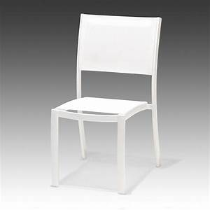 Chaise De Jardin Aluminium : chaise de jardin en aluminium tarragona taupe leroy merlin ~ Teatrodelosmanantiales.com Idées de Décoration