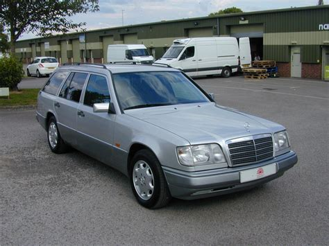 1994 mercedes w124 e320 estate 7 seat auto rhd ex japan for sale car and classic
