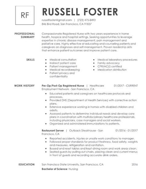 Resume Format For Post by Find Out Which Of The 3 Resume Formats Matches Your Experience