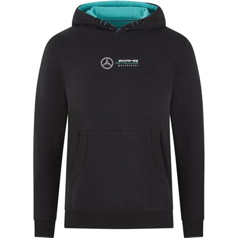 Our classic hoodie has been updated with cool mercedes b. Mercedes AMG - Mercedes Benz AMG Petronas F1 Kids Lewis Hamilton #44 Hooded Sweatshirt Black ...