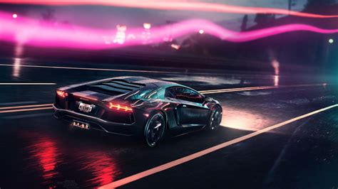 Neon Demon Lamborghini, Hd Cars, 4k Wallpapers, Images