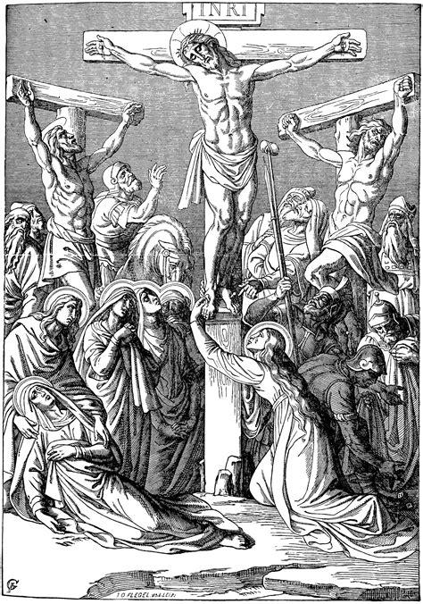 crucifixion  christ clipart