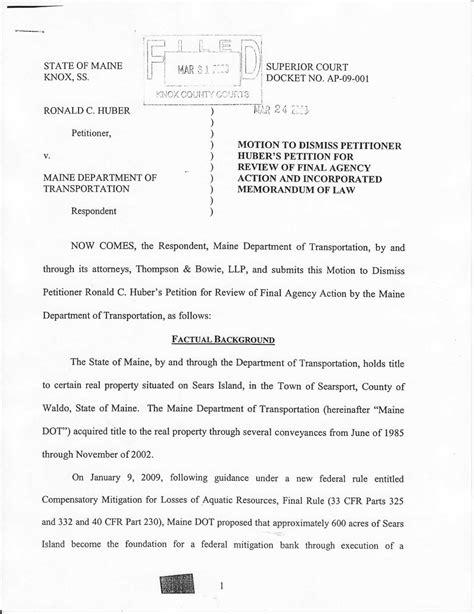 Motion To Dismiss Template - Costumepartyrun