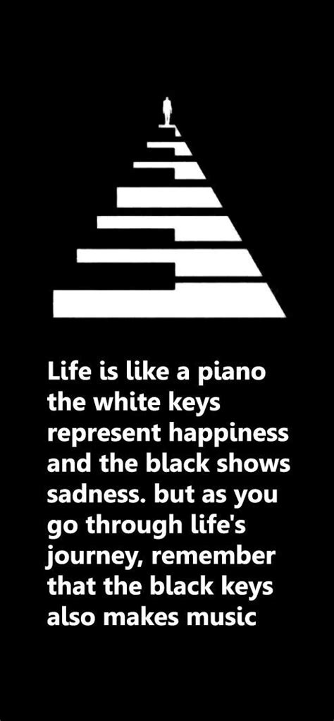 life    piano  white keys represent happiness