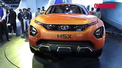 Tata H5x Concept Previews Premium 5 And 7 Seater Suv