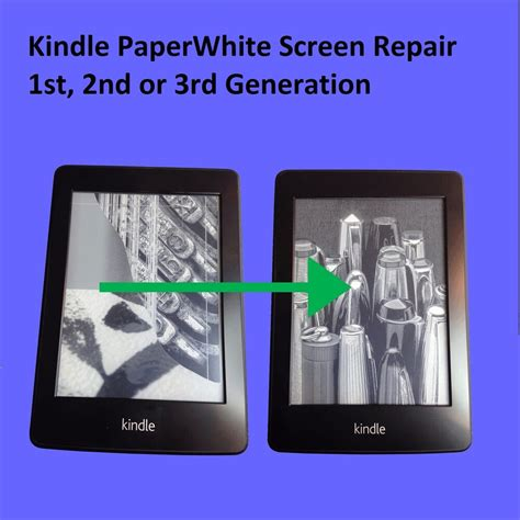 kindle paperwhite 1st new screen replacement service 848719000153 ebay