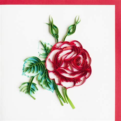floral handmade quilling cards