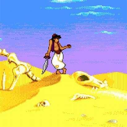 Aladdin Genesis Characters Animated Sega Gifs Games