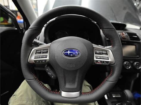 subaru forester steering wheel subaru forester steering wheel upgrade sti part no