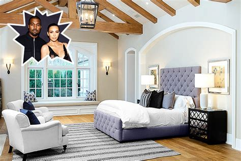 Kim Kardashian & Kanye West - The Best Celebrity Bedrooms