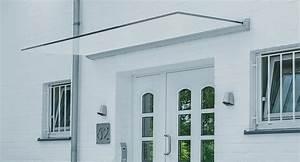 Küchenarbeitsplatte Edelstahl Preis : haust r berdachung dura ein freitragendes glas vordach glasprofi24 ~ Sanjose-hotels-ca.com Haus und Dekorationen