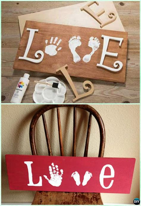 diy handprint craft gift ideas    instructions