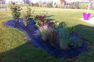 Bache Géotextile Pour Gravier : toile de paillage 130 g m jardin couvert ~ Dode.kayakingforconservation.com Idées de Décoration