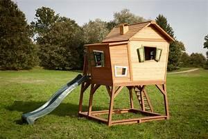 Holzhaus Für Garten : kinder holz spielhaus axi max comic kinderspielhaus auf stelzen rutsche kinderspielger te ~ Whattoseeinmadrid.com Haus und Dekorationen