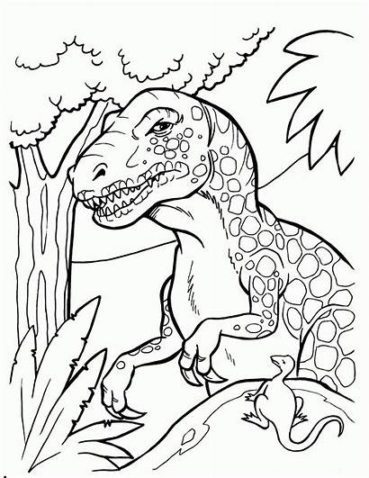 Coloring Pages Dinosaur Printable Dinosaurs Printables Popular
