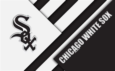 Download wallpapers Chicago White Sox, MLB, 4k, white ...