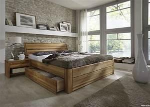 Holzbett Mit Schubladen : wohnzimmer lila ideen ~ Sanjose-hotels-ca.com Haus und Dekorationen