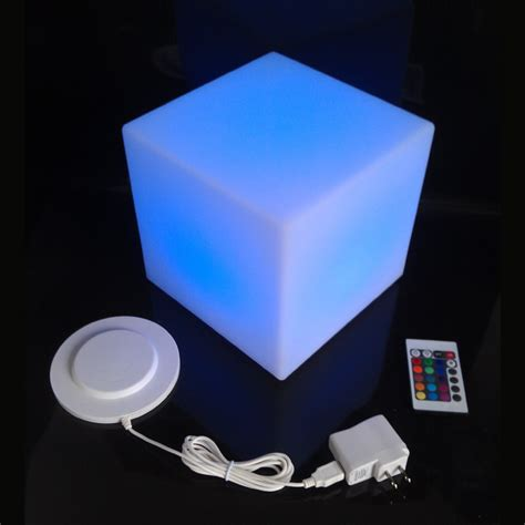 big lots outdoor bar stools d30cm multi function fashion led square cube remote