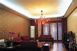 Wallpaper wall unit living room 3D design
