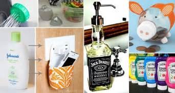 12 Awesome Diy Ways To Resuse Old Bottles